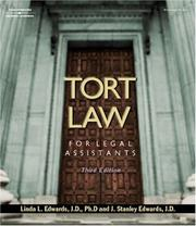 Tort law for legal assistants PDF