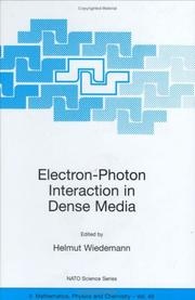 Electron-Photon Interaction in Dense Media PDF