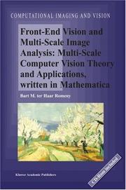 Front-End Vision and Multi-Scale Image Analysis PDF