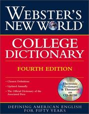 Webster's New World College Dictionary PDF