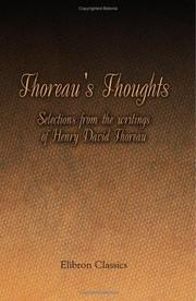 Thoreau's Thoughts PDF