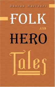 Folk and hero tales by Duncan MacInnes