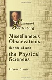 Miscellaneous Observations Connected with the Physical Sciences PDF