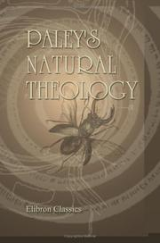 Cover of: Paley's Natural Theology by William Paley