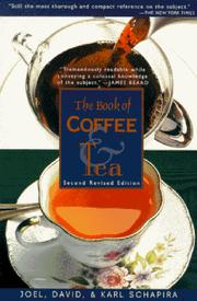 The book of coffee &amp; tea by Joel Schapira