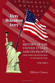 A History of the United States and Its People from Their Earliest Records to the Present Time PDF