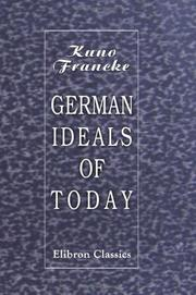 German ideals of to-day PDF