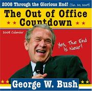 2008 George W. Bush Out of Office Countdown Wall Calendar PDF