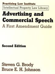 Advertising and commercial speech PDF