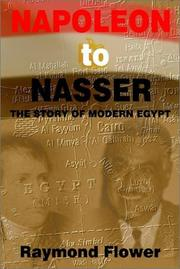Cover of: Napoleon to Nasser by Raymond Flower