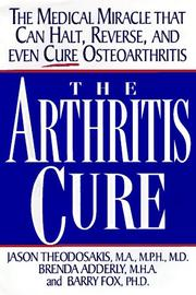 The arthritis cure by Jason Theodosakis