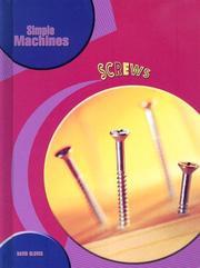 Screws (Simple Machines) PDF