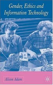 Gender, Ethics, and Information Technology