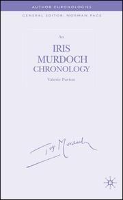 Iris Murdoch Chronology (Author Chronologies) PDF