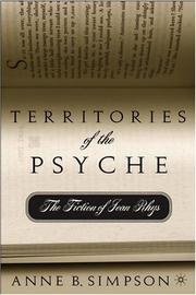 Territories of the Psyche by Anne B. Simpson