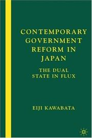 Contemporary Government Reform in Japan PDF
