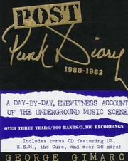 Post punk diary, 1980-1982 PDF
