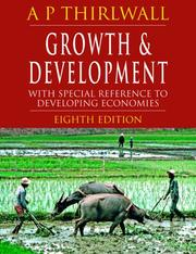 Growth and development, with special reference to developing economies PDF