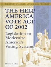 The Help America Vote Act Of 2002 PDF