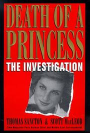 Death of a princess by Thomas Sancton, Thomas Sancton