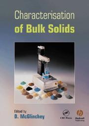 Characterization Of Bulk Solids PDF