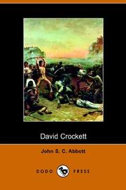 David Crockett by John S. C. Abbott