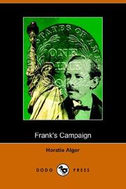 Frank's Campaign, Or, Farm And Camp PDF