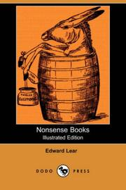 Nonsense books by Lear, Edward