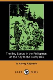 The Boy Scouts in the Philippines, or, the Key to the Treaty Box by G. Harvey Ralphson