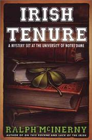 Irish tenure by Ralph M. McInerny