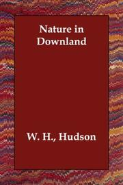 Nature in downland by W. H. Hudson