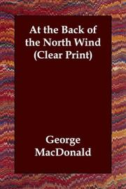 Cover of: At the Back of the North Wind (Clear Print) by George MacDonald