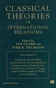 Classical Theories of International Relations (St. Antonys)