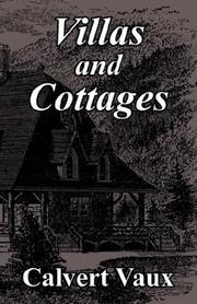 Villas and cottages by Calvert Vaux