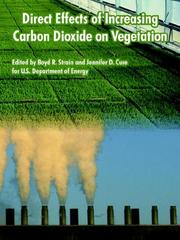 Direct Effects of Increasing Carbon Dioxide on Vegetation PDF
