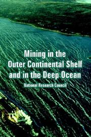 Mining in the Outer Continental Shelf And in the Deep Ocean PDF