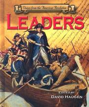 Voices of the Revolutionary War - Leaders (Voices of the Revolutionary War) PDF