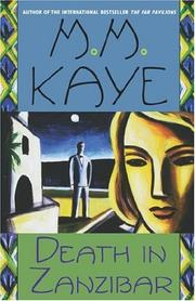 Death in Zanzibar by M.M. Kaye