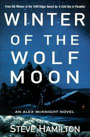 Winter of the Wolf Moon by Steve Hamilton, Steve Hamilton