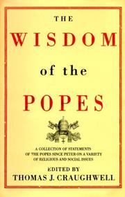 The wisdom of the popes PDF