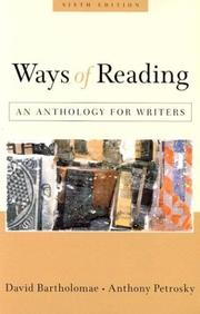 Ways of reading by David Bartholomae