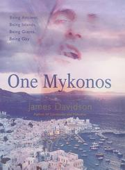 One Mykonos by James N. Davidson