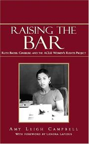 Cover of: Raising the Bar by Amy Leigh Campbell