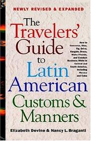 The travelers' guide to Latin American customs and manners PDF