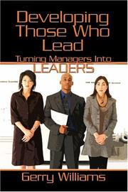 Developing Those Who Lead