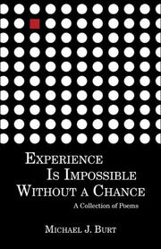 Experience Is Impossible Without a Chance PDF