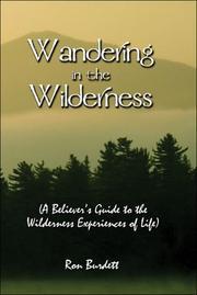 Wandering in the Wilderness PDF