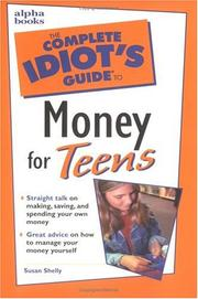 The complete idiot's guide to money for teens PDF