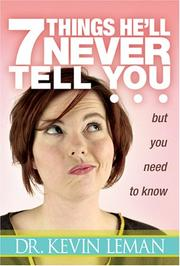 7 Things He'll Never Tell You PDF