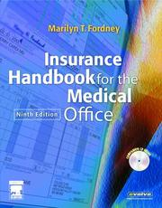 Insurance Handbook for the Medical Office by Marilyn Fordney